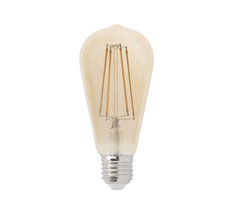 Filament amber thomas edison ampoule led led bulb faro 17428 design signed 36734 product