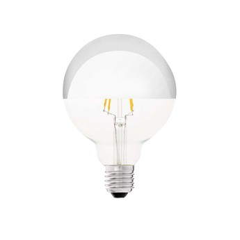 Ampoule led filament amber ambre o9 5 cm h12 8cm faro normal