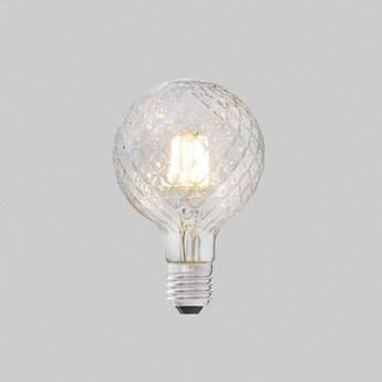 Ampoule led filament amber ambre o9 5 cm h13 5cm faro normal