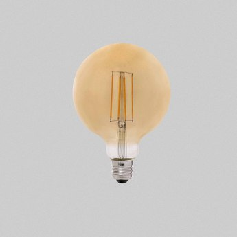 Ampoule led filament amber ambre o9 5 cm h13cm faro normal