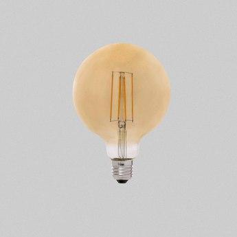 Ampoule led filament amber ambre o9 5 cm h13cm faro normal