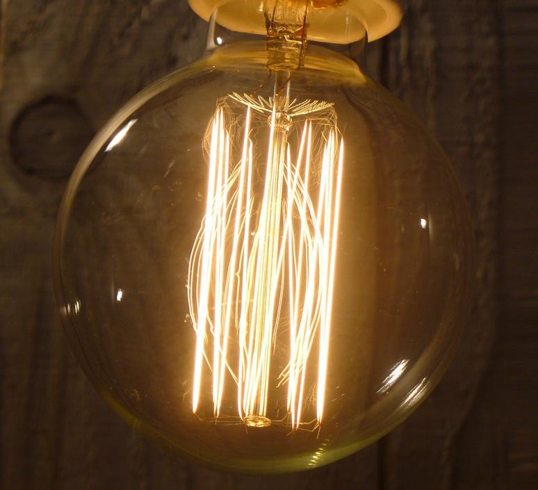 Filament amber thomas edison ampoule led led bulb  faro 17429  design signed 36726 product
