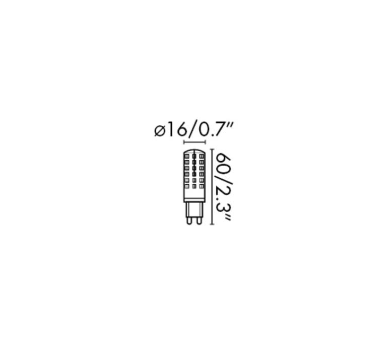 G9 led thomas edison faro 17466 luminaire lighting design signed 29626 product