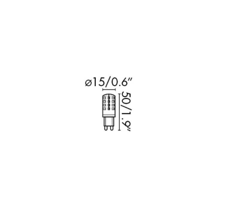 G9 led thomas edison faro 17444 luminaire lighting design signed 29624 product