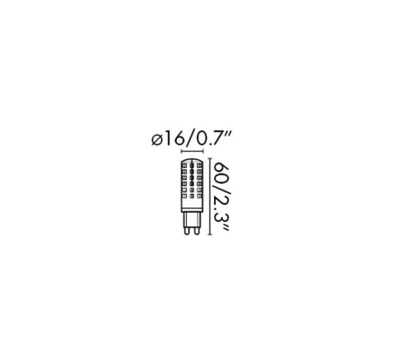 G9 led thomas edison faro 17467 luminaire lighting design signed 29628 product