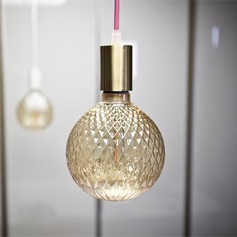 Ampoule led globe diam 125 mm ambre ambre led o12 5cm hcm nexel normal