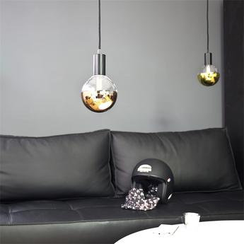Ampoule led globe diam 125 mm calotte laiton laiton led o12 5cm hcm nexel normal