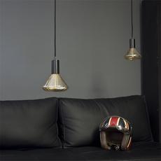 Globe dim 145 mm ambre  ampoule led eco bulb  nexel 043900 1145a  design signed 58541 thumb