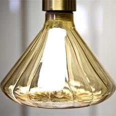 Globe dim 145 mm ambre  ampoule led eco bulb  nexel 043900 1145a  design signed 58542 thumb