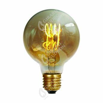 Ampoule led globe g80 o8cm h12cm girard sudron normal