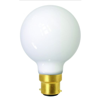 Ampoule led globes g80 blanc 2700 k 806 lm 360 b22 led o8cm h12cm girard sudron normal