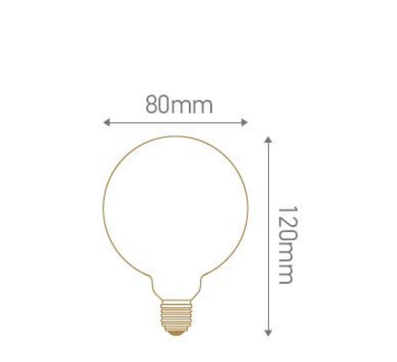 Globes g80 thomas edison ampoule led eco bulb  girard sudron 719003  design signed 60392 product