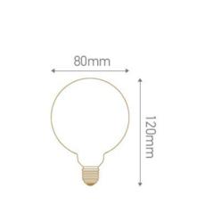 Globes g80 thomas edison ampoule led eco bulb  girard sudron 719003  design signed 60392 thumb