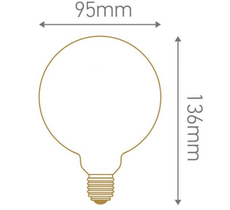 Globes g95 thomas edison ampoule led eco bulb  girard sudron 719009  design signed 60401 product