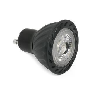Ampoule led gu10 30000k 500lm 7w dimmable noir h5 8cm o5cm wever ducre normal