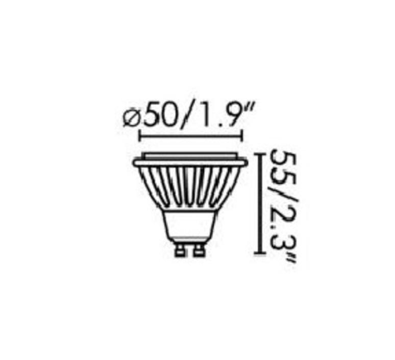 Par16 led gu10 6w studio wever ducre  wever et ducre 901228w4 luminaire lighting design signed 71757 product