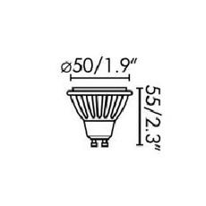 Par16 led gu10 6w studio wever ducre  wever et ducre 901228w4 luminaire lighting design signed 71757 thumb