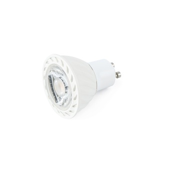 Ampoule led gu10 dimmable 8w blanc o5cm 480lm 4000k 38 faro normal