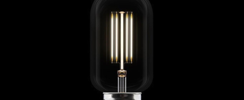 Ampoule led idea 2w o45mm h10 8cm 2200k 120 140lm transparent vita copenhagen normal