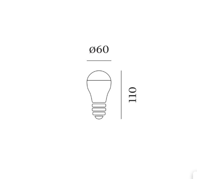 Light bulb mirro 13 9 design ampoule led eco bulb  wever ducre 9003e139  design signed nedgis 103993 product