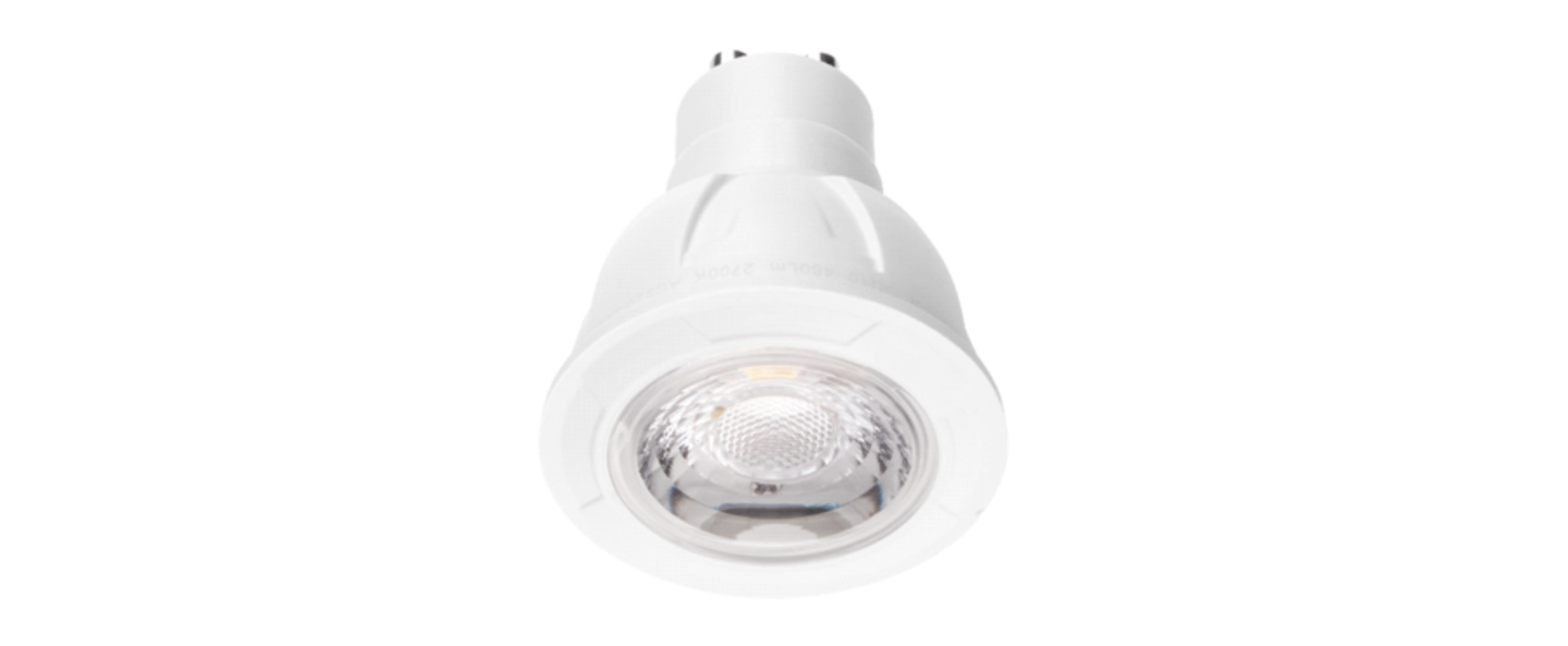 Ampoule led par16 led gu10 6w transparent o0cm wever ducre normal