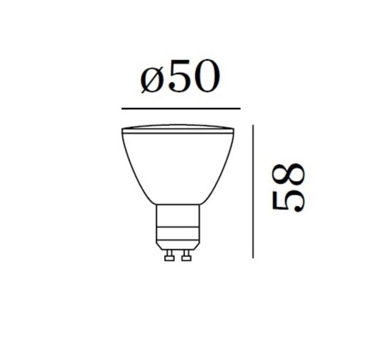 Par16 led gu10 6w studio wever ducre  wever et ducre 901228w4 luminaire lighting design signed 28041 product