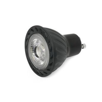 Ampoule led par16 led gu10 8w dimmable noir o5cm 2700k faro 17331 normal