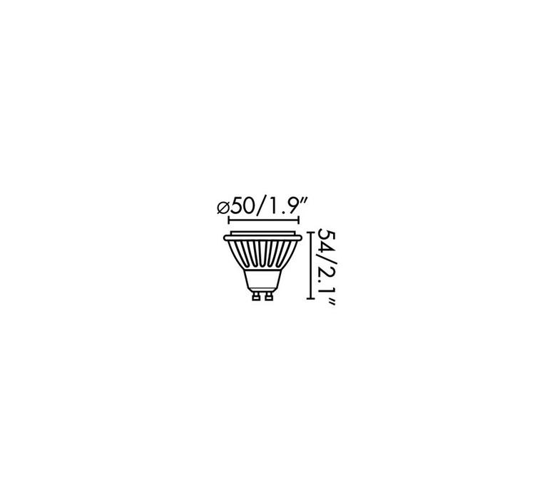 Par16 led gu10 6w studio wever ducre  wever et ducre 901228w4 luminaire lighting design signed 118396 product