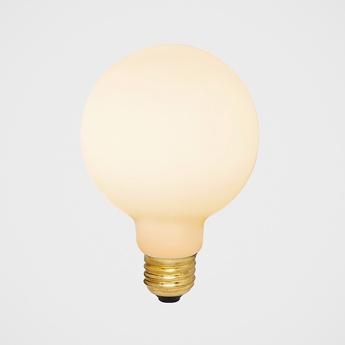 Ampoule led porcelain ii 6w blanc mat o8cm h12cm tala normal