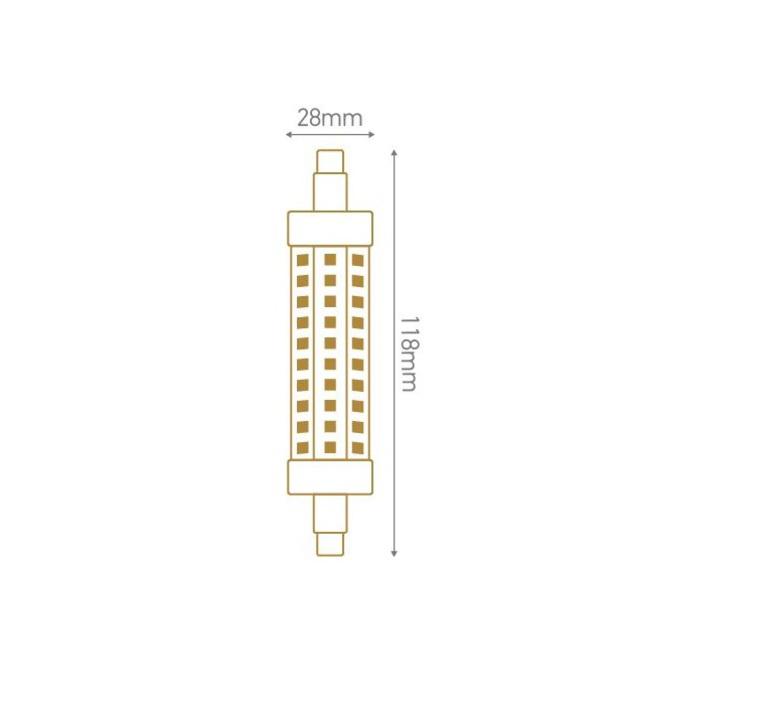 R7s thomas edison ampoule led eco bulb  girard sudron 167288  design signed 60350 product