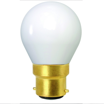Ampoule led spherique g45 blanc 2700 k 400 lm 360 b22 led o4 5cm h7 8cm girard sudron normal