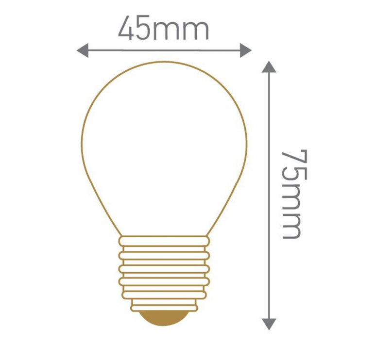 Spherique g45 thomas edison ampoule led eco bulb  girard sudron 719001  design signed 60380 product