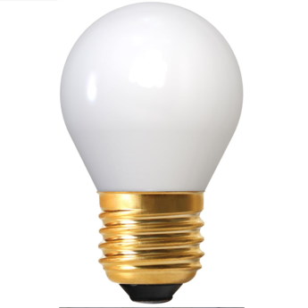 Ampoule led spherique g45 blanc 2700 k 400 lm 360 e27 led o4 5cm h7 5cm girard sudron normal