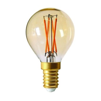 Ampoule led spherique g45 filament ambre o4 5cm h7 8cm girard sudron normal