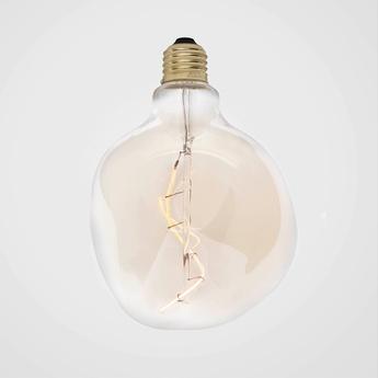 Ampoule led voronoi i e27 2w dimmable filament teinte transparent ip54 o12 5cm h17 5cm tala normal