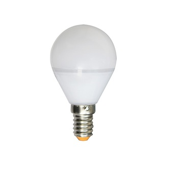Ampoule spherique g45 led 330 5w e14 2700k 400lm dimmable depolie girard sudron normal