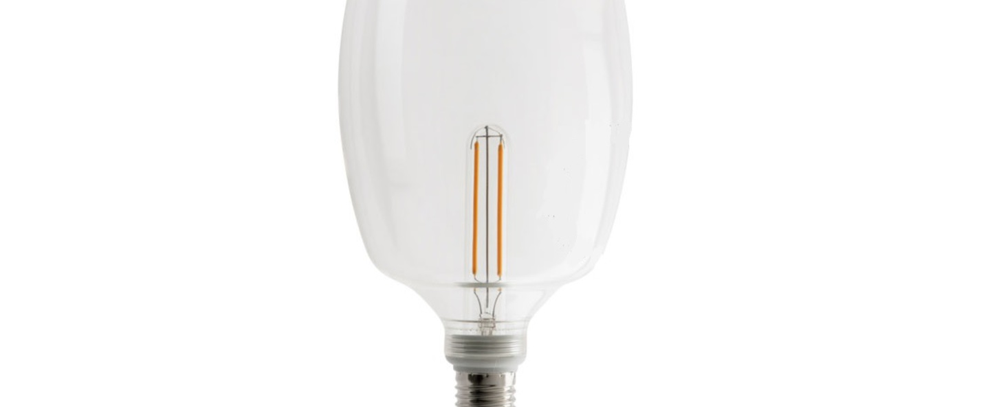 Ampoule xl e27 led 2700k 350lm filament o12 5cm h20 5cm zangra normal