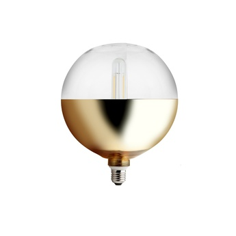 Ampoule xxl mirror bottom or o20cm led zangra normal