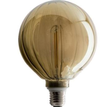 Ampoules lignes marron led o12 5cm h17 5cm zangra normal