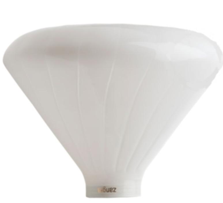 Bulbs, MUSHROOM, white, LED, Ø14,5cm, H14cm - ZANGRA