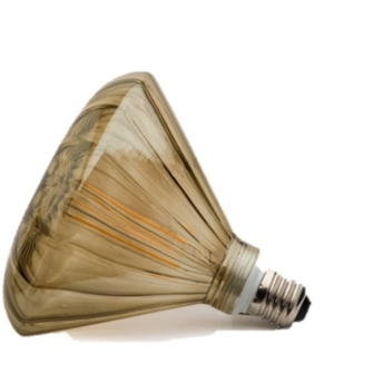 Ampoules mushroom marron led o14 5cm h14cm zangra normal