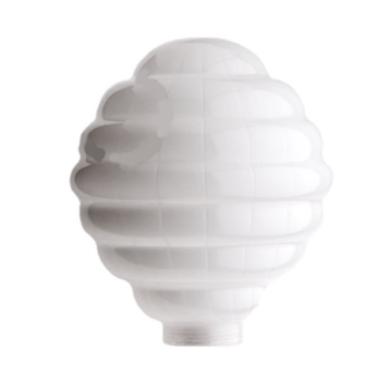 Ampoules stripe blanc led o12 5cm h18cm zangra normal