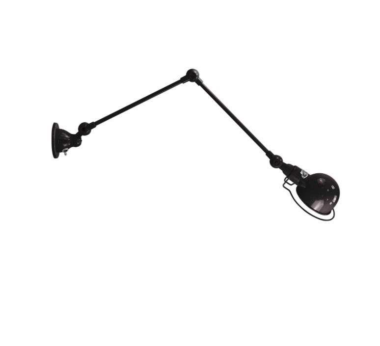 Applique 2 bras noir mat signal l60cm jielde 75458 product