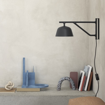 Applique ambit noir o16 7cm h19 5cm 2700k muuto normal