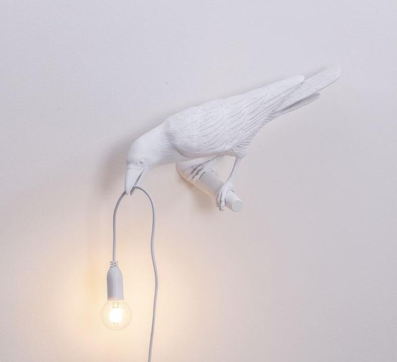 Bird lamp looking left outdoor marcantonio raimondi malerba applique d exterieur outdoor wall light  seletti 14724  design signed nedgis 97195 product