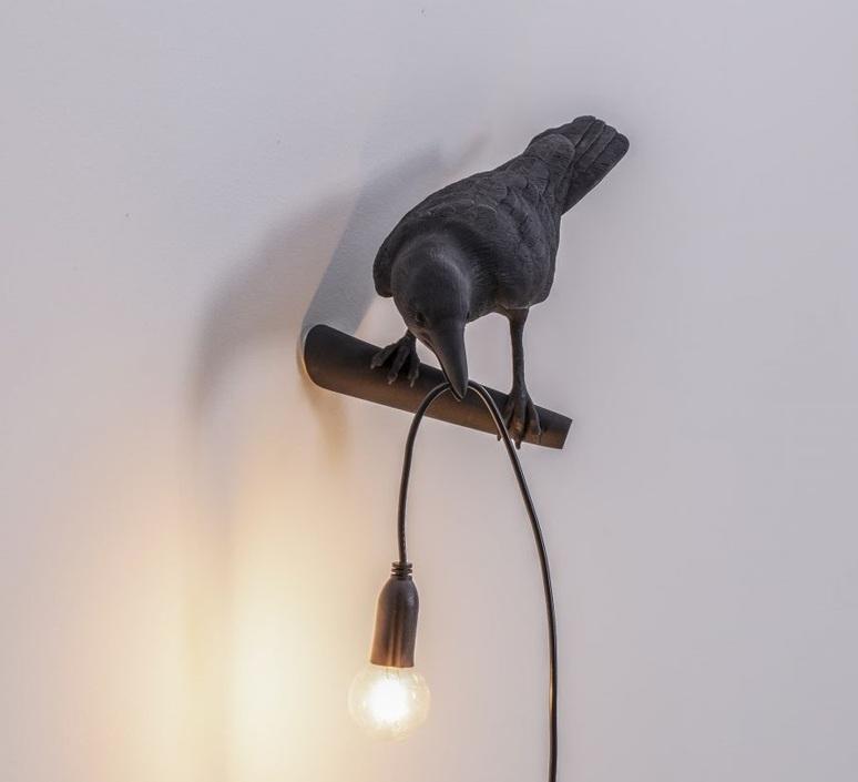 Bird lamp looking left outdoor marcantonio raimondi malerba applique d exterieur outdoor wall light  seletti 14727  design signed nedgis 97202 product