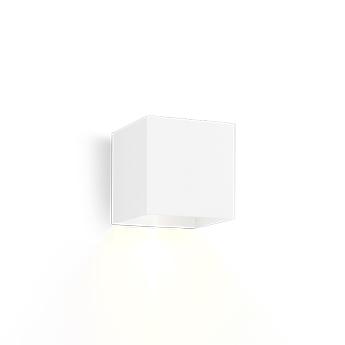 Applique d exterieur box 1 0 outdoor blanc ip65 led 2700k 400lm l10cm h10cm wever ducre normal
