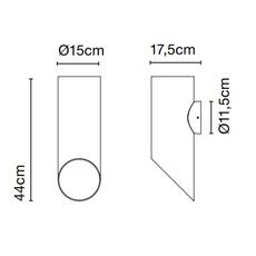 Elipse a josep lluis xucla applique d exterieur outdoor wall light  marset a707 003 38  design signed nedgis 115804 thumb