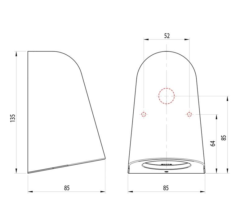 Mast light studio astro applique d exterieur outdoor wall light  astro 1317011  design signed nedgis 101051 product