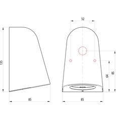 Mast light studio astro applique d exterieur outdoor wall light  astro 1317011  design signed nedgis 101051 thumb